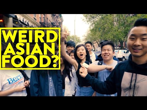 WEIRDEST ASIAN FOOD YOU EVER ATE?!