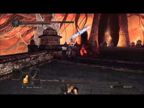 Burnt Ivory King Boss Dark Souls Ii Crown Of The Ivory King Dlc video