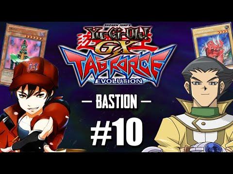 Yu-Gi-Oh! GX TAG Force Evolution #10 - Duelo Emocionante / Gostoso VS Bastion / O Herói!! [PS2]