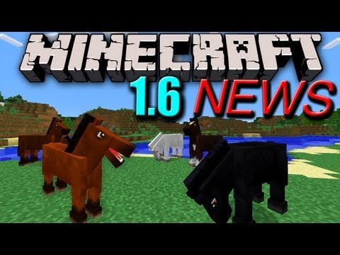 Minecraft News: 1.6 Horses Confirmed! Secret Feature & 10 Million Sales