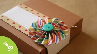 Caja de pizza: para regalo original // Pizza box DIY