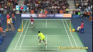 Badminton Highlights   Lin Dan vs Lee Chong Wei   Asian Games 2014 MS SF   YouTube