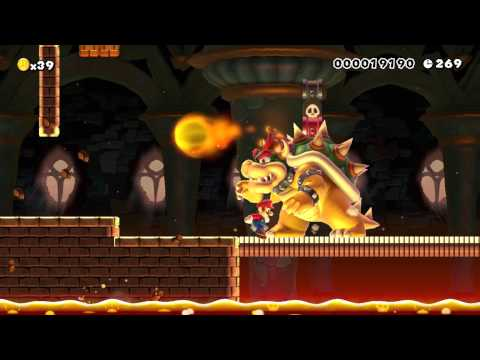 Super Mario Maker Gameplay NWC 2015 Level 4 Playthrough