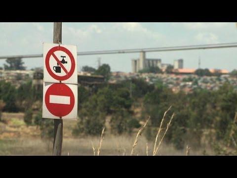 Sensibilisation à la pollution des mines en Afrique du Sud