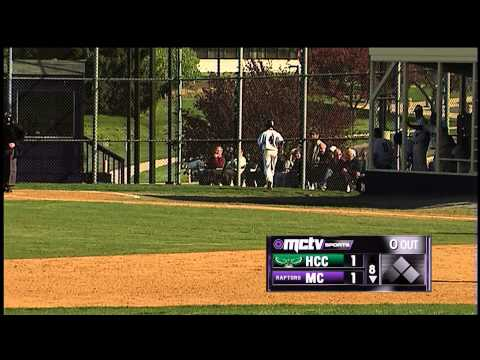 Montgomery College Raptors Baseball vs. Hagerstown Community College, 4-23-2013 - Duck Lee Day (HD)