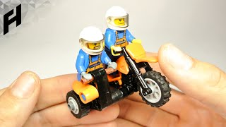 How to Build the Motocross Sidecar (Lego Toy)