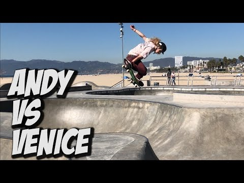 ANDY ANDERSON KILLS VENICE SKATEPARK AND MUCH MORE !!! - NKA VIDS -