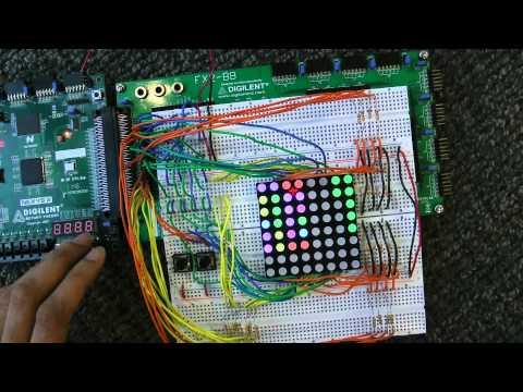 Mastermind on FPGA