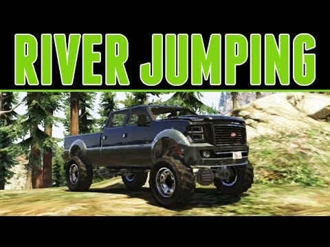 Grand Theft Auto 5 Online : River Jumping & Offroading - w/ TC9700Gaming