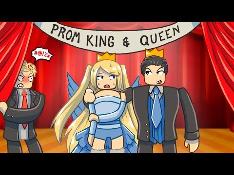 My Bully And I Won Prom Queen and King...Awkward | Royale High Roleplay