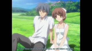 Small hand - IN22 Song of anime CLANNAD After Story