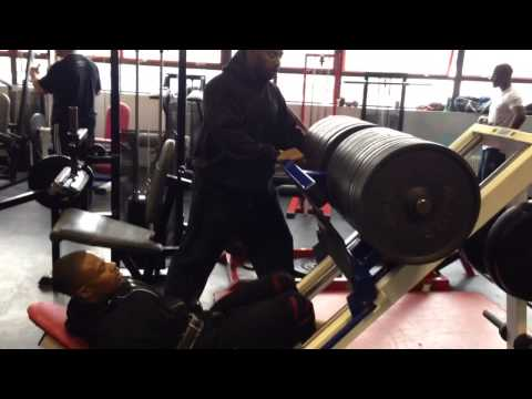 Simeon Panda 1320lbs (600kg) Leg press Image 1