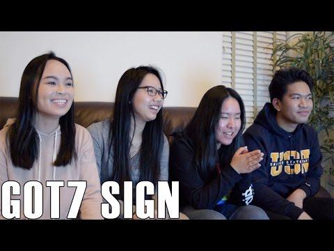 GOT7- Sign (Reaction Video)
