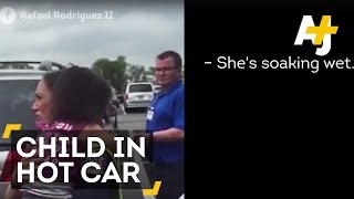 Strangers Rescue Toddler Left In Hot Car As Mom Went Shopping