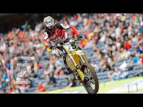 Ricky Carmichael, Josh Hill & Broc Tickle At Houston Supercross: RCH Racing Ep. 2