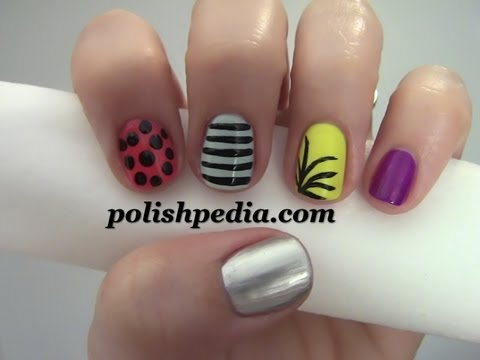 New Years Party Nail Art