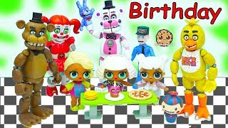 LOL Surprise Wave 2 Big Sister Blind Bag Ball Birthday Party with Five Nights At Freddy