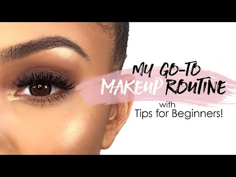 My Go-To Makeup Routine ft. Tips for Beginners   Alyssa Forever