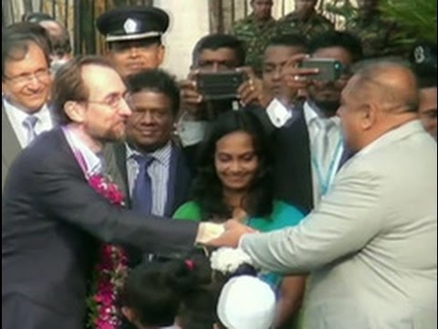 UN Human Rights chief arrives in Sri Lanka