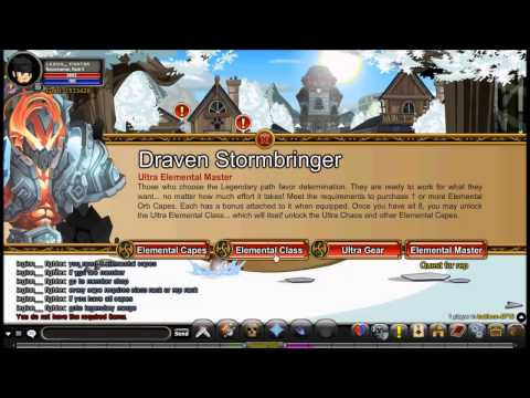 AQWorlds- Ultra Elemental Class How To Get