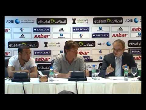 Pre Match Press Conference v Dubai FC