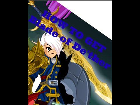 =AQW= How To get Blade of De