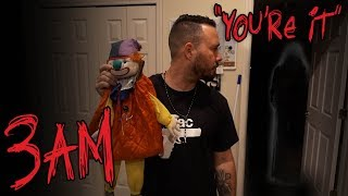 HAUNTED CLOWN DOLL ONE MAN HIDE AND SEEK ( 3AM CHALLENGE )