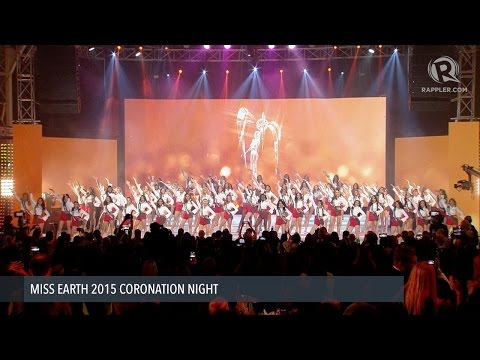 LIVE: Miss Earth 2015 coronation night