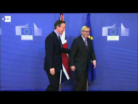 Cameron se reúne con Juncker para tratar la inmigración en Reino Unido