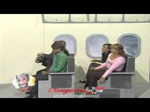 Boca De Piano Airlines - Avion Cayendose