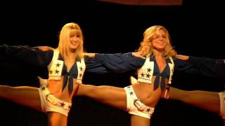 Dallas Cowboy cheerleaders in HD (short)