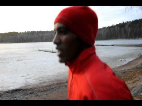 Musse tränar inför ljusruset 2011
