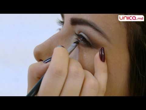 Frumusețea se învață Vezi cum se face machiajul ochi de pisică Unica.md