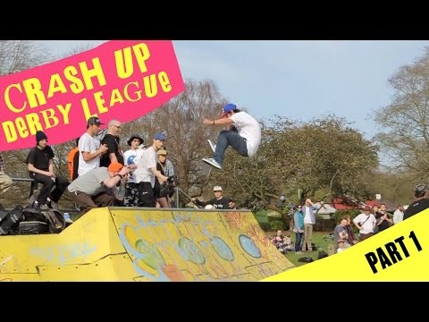 REAL Skateboards: UK Crash Up Derby Pt. 1