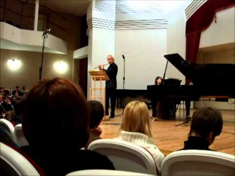 Гобер, Филипп - Second Sonata for Flute and Piano