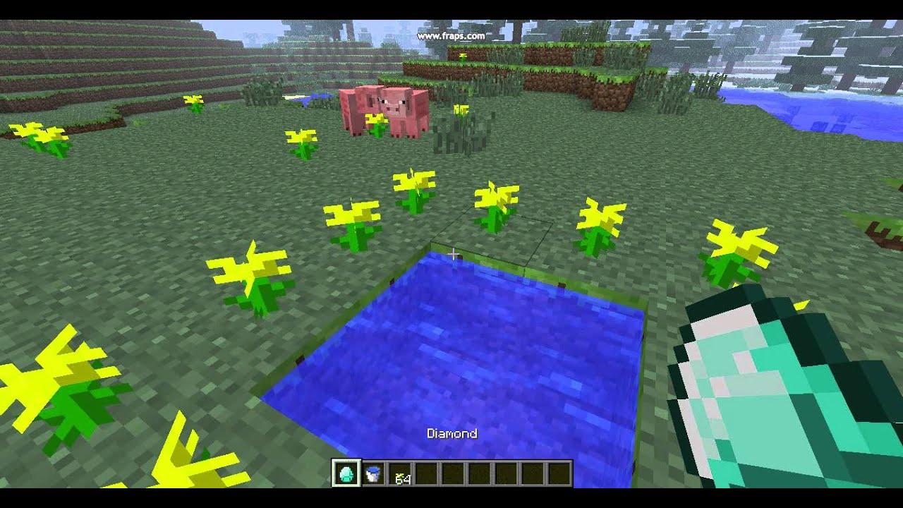 как сделать портал в сумеречный лес в майнкрафт 1.5.2 с модом - YouTube