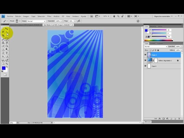 Hacer  una Invitación a un evento en photoshop (Perzonalizado) Parte 1