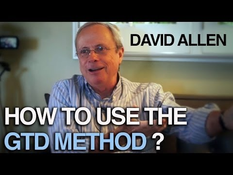 How to get things done- David Allen