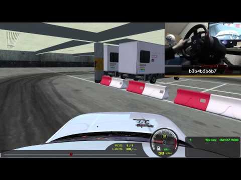 rFactor: Drifting in Tokyo Drift Parking Garage (900 Degree + Onboard)