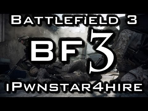 Battlefield 3 - Conquest Domination and TeaseMode - BF3 SG553 Gameplay