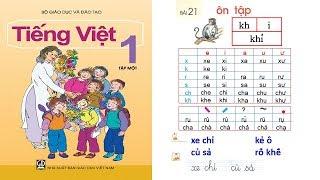 Học tiếng việt lớp 1 Tập 1 Bài 21: dạy bé học chữ cái chu cai tieng viet lop 1 | PA channel