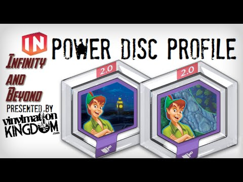 Disney Infinity 2.0 Peter Pan Disney Infinity 2.0 Power Disc
