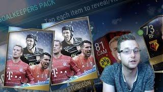 FIFA Mobile 17 Goalkeepers Bundle! 10 Goalkeepers Packs! Plus Match Ticket Topper! Elite Pulls!!