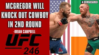 UFC 246: McGregor-Cerrone Preview and expert picks | State of Combat