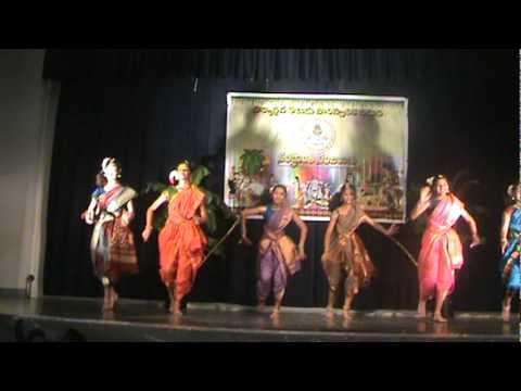 Sankranthi 2012 Telugu Folk Dance video