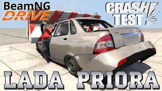 BeamNG DRIVE car LADA PRIORA Crash Test