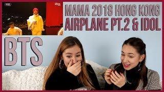 Bts Airplane Pt 2 Idol Performance Reaction 2018 Mama In Hong Kong
