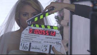 Shakira's Empire video - behind the scenes