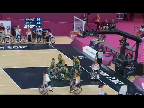 Wheelchair Basketball - Women's - GBR versus AUS - London 2012 Paralympic Games