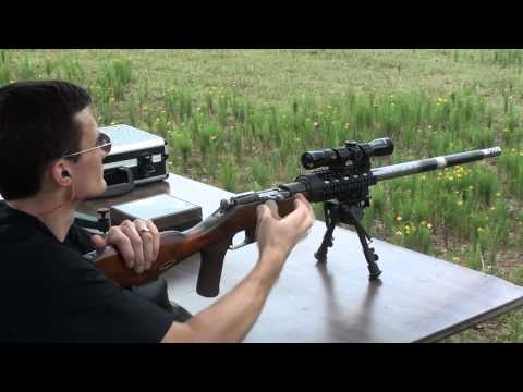 Custom Mosin Nagant Heavy Barrel Sniper Rifle